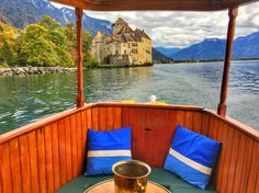 How about cruising through Lake Geneva and its secret passage ways in a Saloon Boat originating from 1911 with a one-of-a-kind captain?