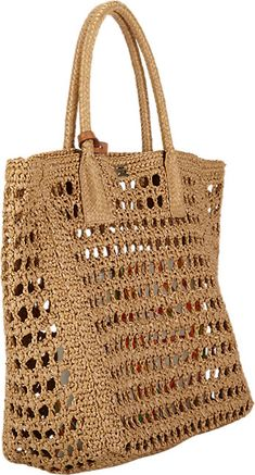 Dolce & Gabbana Raffia Tote -  - Barneys.com
