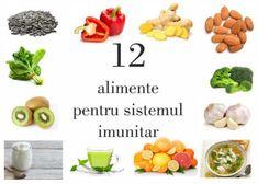 #alimente #naturale #sistemimunitar #sanatate #alimentatie #nutritie #remediinaturiste 12 alimente ce îți întăresc sistemul imunitar și te ajută să lupți cu bolile Yoshi, Place Cards, Place Card Holders