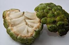 One of the fruits I miss from the Philippines 'Atis' also known as sugar apple or custard apple