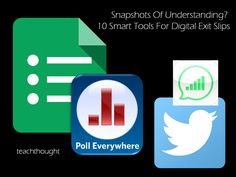 Snapshots Of Understanding? 10 Smart Tools For Digital Exit Slips