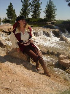 Renaissance SCA Con Handmade Anne Bonny Women's by mistythicket, $72.99