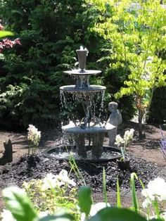 How To Make A Three Tiered Garden Fountain
