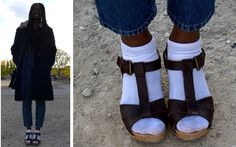 http://www.anonymousstreetstyle.com/2014/11/socks-clog-sandals.html