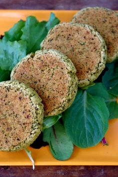 Delicious and Simple Baked #Kale #Falafel (vegan & #Glutenfree)