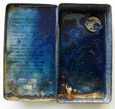 Good night moon by hogret.deviantart.com on @DeviantArt