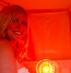 Near infrared lamp saunas are the BEST detoxification method.