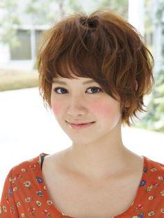 Cute Asian Hairstyle