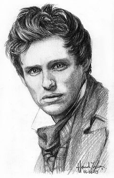 sketch - Marius by nitefise. They have a whole bunch of other Les Mis characters too!!! :3