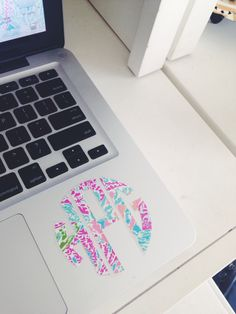 two favorite things: Lilly P and Monograms on a Mac