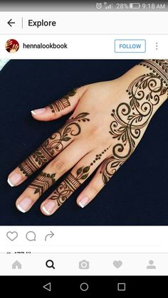 Advice About Hobbies That Will Help Anyone – Henna Tattoos Mehendi Mehndi Design Ideas and Tips Henna Tattoo Hand, Henna Tattoos, Sexy Tattoos, Henna Tattoo Muster, Henna Ink, Henna Body Art, Henna Tattoo Designs, Tattoos For Guys, Mandala Tattoo