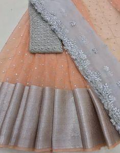 Half Saree Lehenga, Lehenga Saree Design, Lehnga Dress, Lehenga Designs, Silk Lehenga, Anarkali, Party Wear Indian Dresses, Indian Gowns Dresses, Wedding Dresses For Girls