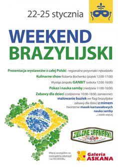 Galeria Askana | W dniach 22-25 stycznia w Galerii Askana odbędą się pierwsze z cyklu comiesięcznych Zielonych jarmarków w Askanie. Styczniowe przebiegną w klimacie brazylijskich.