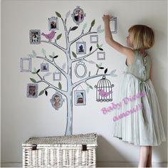 Árvore Genealógica: mais uma ideia - Baby Dicas