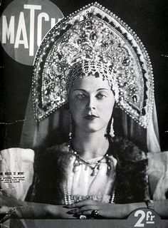 The Kokoshnik Story  #Bochic #Russian inspiration  www.bochic.com