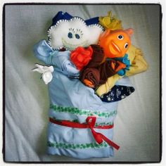 Simple Baby Shower Bouquet #babyshower #bouquet
