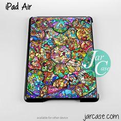 disney characters stained glass Phone case for iPad 2/3/4, iPad air, iPad mini