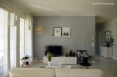 Koti Aurorassa. Livingroom.