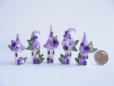 It's a teeny tiny fairy village made by fizzyclaret...and I want it!!!