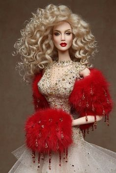 dolls couture Barbie dolls buildings, all aspects traditional wood-based houses to Barbie Dreamhouses. Barbie Gowns, Barbie Dress, Barbie Clothes, Doll Dresses, Beautiful Barbie Dolls, Vintage Barbie Dolls, Fashion Royalty Dolls, Fashion Dolls, Fashion Outfits