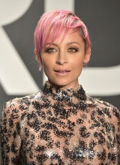 Nicole Richie Photos Photos: Tom Ford Presents His Autumn/Winter 2015 Womenswear Collection At Milk Studios In Los Angeles - Red Carpet Milk Studios, Really Short Hair, Fall Winter, Autumn, Nicole Richie, Undercut, Tom Ford, Red Carpet, Short Hair Styles