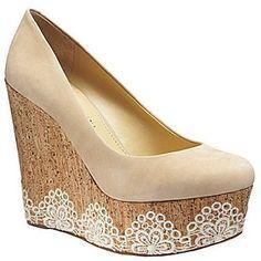 ADORABLE!  ShopStyle: Gianni Bini Delilah Platform Wedges