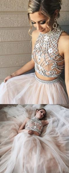 Floor length Prom Dresses, Ivory Floor length Prom Dresses, Floor-length Long Evening Dresses, Floor-length Evening Dresses, Long Evening Dresses, Two Piece A line Tulle Beading Pretty High Neck Prom Dresses,2 pieces Evening Dresses, Two Piece Dresses, Two Piece Prom Dresses, A Line dresses, 2 Piece Prom Dresses, 2 Piece dresses, Long Prom Dresses, High Neck dresses, Pretty Prom Dresses, Floor Length Dresses, High Neck Prom Dresses, Prom Dresses Long, Ivory Prom Dresses, A Line Prom Dr...
