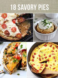 Don't forget that pi day is complete,ing up! 18 Savory Pie Recipes #healthy
