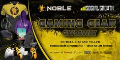 Enter This #Gaming Gear #Giveaway From @SocialGrowthHQ