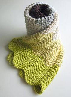 Chevron Baby Blanket   Purl Soho