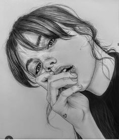 Pencil drawings, pencil portrait drawing, portrait art, pencil art, d Portrait Au Crayon, Pencil Portrait Drawing, L'art Du Portrait, Realistic Pencil Drawings, Pencil Art Drawings, Art Drawings Sketches, Drawing Portraits, Face Drawings, Detailed Drawings