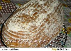 Žitný kvásek - tzv. ananasové řešení recept - TopRecepty.cz Bread, Food, Author, Pineapple, Meal, Essen, Hoods, Breads, Meals