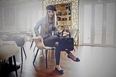 Marla London AW14 Ellen Tote #fashion #ootd #outfit #streetstyle #ootw #fblogger #tagsforlikes #dubai #dubaistreetstyle #dubaifashionblogger #lookbook #handbags