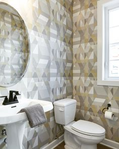 Another Scion Wallpaper Found In The Parade Of Homes 248 Interior Selections By Jay