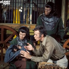 Everything about the mighty PLANET OF THE APES saga, from the original novel, via the classic films of the and right up to the 2011 reboot. Plant Of The Apes, Linda Harrison, James Whitmore, Saga, Go Ape, Sci Fi Horror, Cartoon Tv, Original Movie, Movie Characters