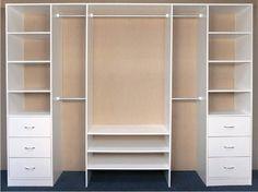 Ideas Walk In Closet Layout Ideas Built Ins Bedroom Closet Design, Bedroom Desk, Bedroom Wardrobe, Wardrobe Closet, Closet Designs, Master Closet, Bedroom Storage, White Wardrobe, Modern Wardrobe