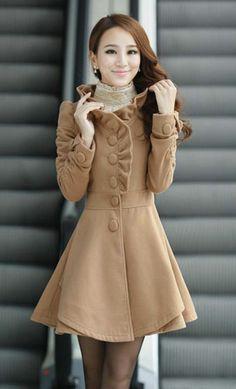 I think the coat dress it so adorable