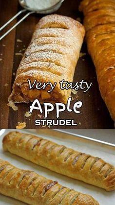 Very tasty Apple strudel
