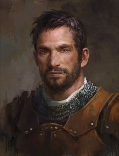 Fantasy Portraits, Character Portraits, Fantasy Artwork, Dungeons And Dragons Characters, Dnd Characters, Fantasy Characters, Fantasy Male, Fantasy Warrior, Dark Fantasy