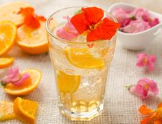 Sommerblüten-Orangen-Limonade - Rezept - ichkoche.at