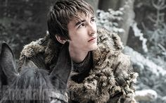 Game of Thrones: Bran (Isaac Hempstead-Wright) will return next season after spending a year off the show and EW has your first look photo below.