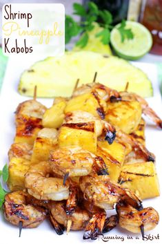 Coconut Aminos for Soy Sauce Shrimp Pineapple Kabobs - clean eating grilling recipe! Only 6 ingrediants! Healthy Grilling, Grilling Recipes, Cooking Recipes, Healthy Recipes, Grilling Shrimp, Pineapple Recipes Healthy, Easy Grill Recipes, Recipes For The Grill, Cantaloupe Recipes