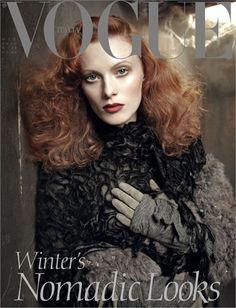 Winter's Nomadic Looks by Steven Meisel, October 2011