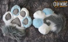Resultado de imagen de fursuit paws