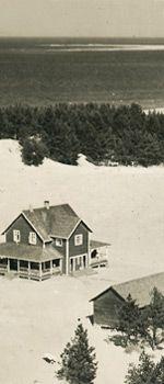 The first inn. Sand dunes of Kalajoki, Northern Ostrobothnia, old photo. http://www.hiekkasarkat100.fi/# #kalajoki #finland #history #old