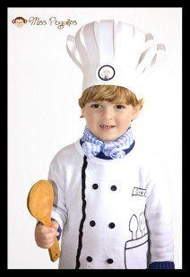 DiY Disfraz de Chef fácil y barato