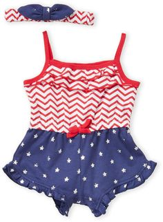 Short Sets Apparel IWOKA Baby Girls Plaid Ruffle Bowknot Tank Top+Denim Shorts Outfit with Headband