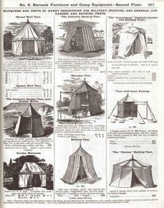 Edwardian Camping 1907-10