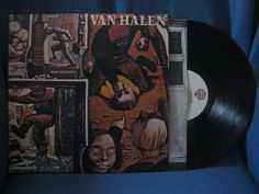 Vintage Van Halen  Fair Warning Vinyl LP Record by sweetleafvinyl, $7.99
