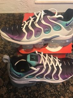 5151b5f12e44d Nike Vapormax Plus White Grape Fierce 8.5 Receipt Included 100% Authentic   fashion  . Athletic ShoesRunning ...